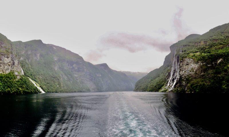 Hurtigruten bateau