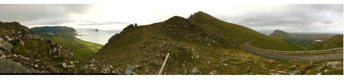 norvege bleik montagne