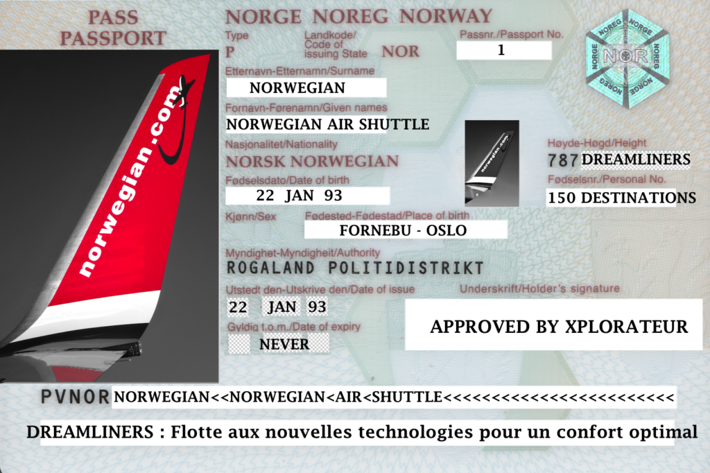 avis avantages norwegian air shuttle
